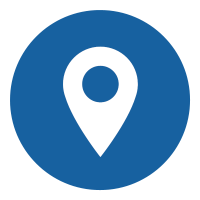 Blue Location Marker Icon